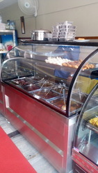 Food Display Bain Marie Counter