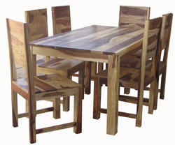 Solid Wood Sheesham Dining Table