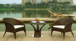 Luxury Outdoor Wicker Furniture Set