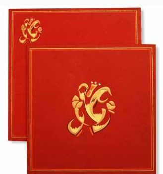 PR 1048 C 0808 Hindu Wedding Card