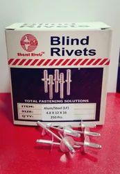 Aluminium Large Head Blind Rivets