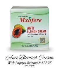 Anti Blemish Cream With Papaya Extract