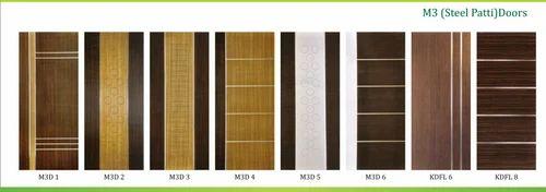 Unique Design Wood, Metal Mettalic Strip Door, 30mm