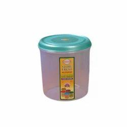 Regular Plastic Container Jar for Kitchen Storage
