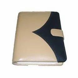 Clip Leather File Folders