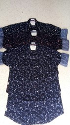 3 Cotton/Linen Man's Casual Shirts