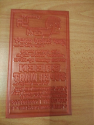 Flexographic Printing Polymer Plates and Polymer Plate For