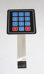 4x3 Matrix Membrane Keypad