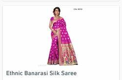 Ethnic Banarsi Silk Saree