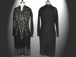 Black Long Ladies Dress
