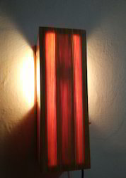 Wall Or Bedside Wooden Light