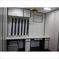 Site Office With Toilet Pantry