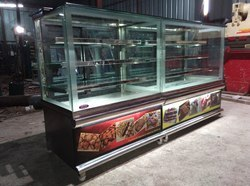 Stainless Steel Sweet and Dessert Display Counter
