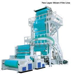 Two Layer Blown Film Line