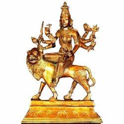 Bronze Durga Devi Statue