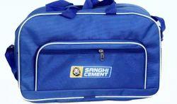 Blue Plain Gift bag .luggege bag
