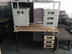 Mild Steel Rectangular Office MS Table