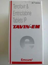 Tavin EM - Tenofovir & Emtricitabine Tablet