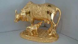 Excelent Golden Cow Calf set