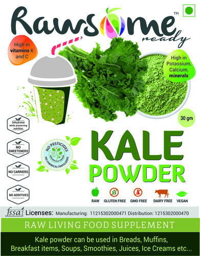 kale powder vs fresh kale