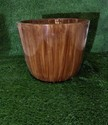 Teak Wood Finished FRP Planters