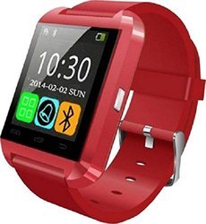 Red Bluetooth Watch