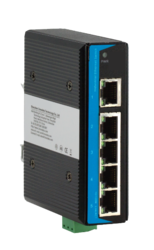 Industrial Ethernet Switch 3 Port 2 Fiber