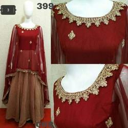 Ladies Cape Gown