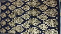 Gold Print Fabric, GSM: 100-150