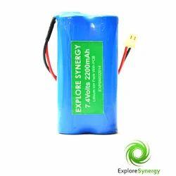 7.4 V 2200 mah Lithium Ion Battery