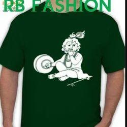Cotton Round Neck Janmashtami T-shirt
