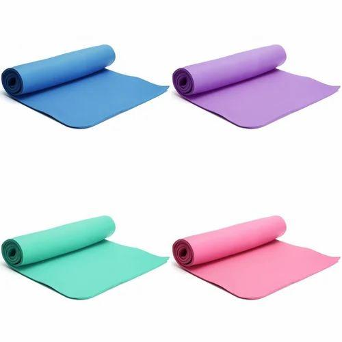EVA Plain Comfort Yoga Mat, 4