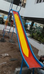 Galvanized Iron Playground Slide
