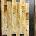 Teak Split Mosaic Tile