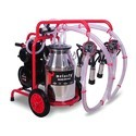 Milking Machine With Double Cluster