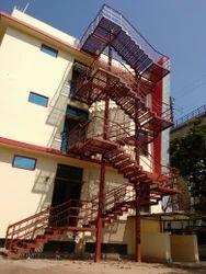 Mild Steel Fire Escape Stair