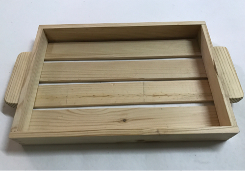 Rectangle Stripe Tray