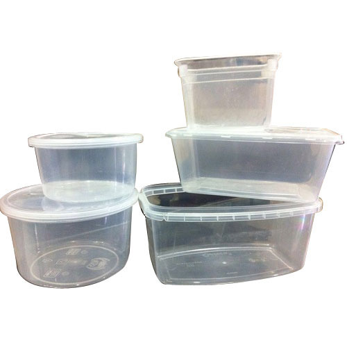 Ice Cream Plastic Transparent Container at Rs 6 piece Ice Cream