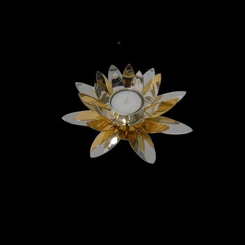 Silver Lotus Tea Light Holder At Rs 4410 Pieces New Friends