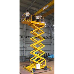 Scissorlift with Extension Platform
