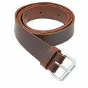 Single Pin Leather Belt