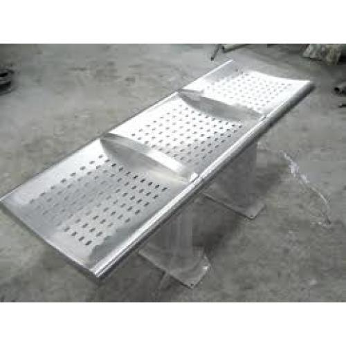 Metro Bench Stainless Steel Bench Stainless Steel Bench  : stainless steel bench 4 seater 500x500 from www.indiamart.com size 500 x 500 jpeg 23kB