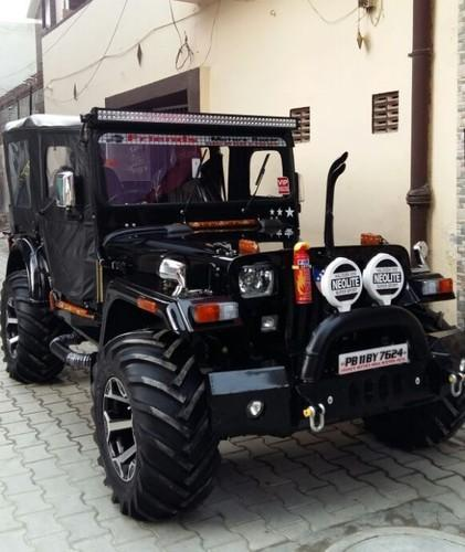 Moga Willy Jeep Modification