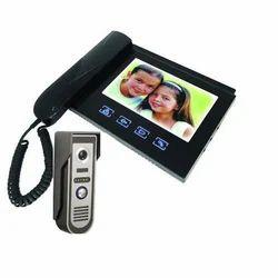 Alarm Color Hand Set Video Door Phone