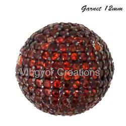 Garnet Gemstone Bead