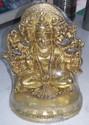 Brass Panchmukhi Hanuman Idol