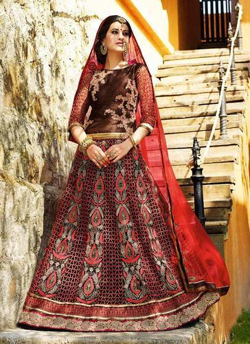 Heavy Embroidery Lehenga At Rs 5549 Piece S
