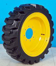 High Load Solid Press- On Tyres