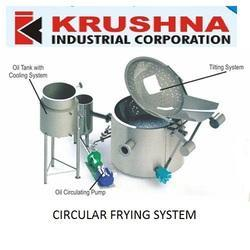 Circular Frying System with Inbuilt Heat Exchanger