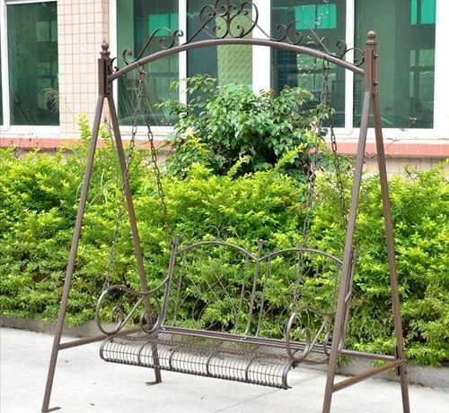 Iron Swing Garden Bench Something Different